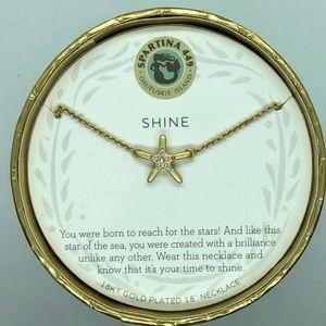 "SLV ""Shine"" Starfish Necklace"